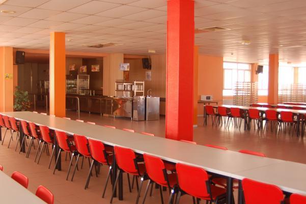 Instalaciones Residencia de Estudiantes Ramon Pignatelli Comedor